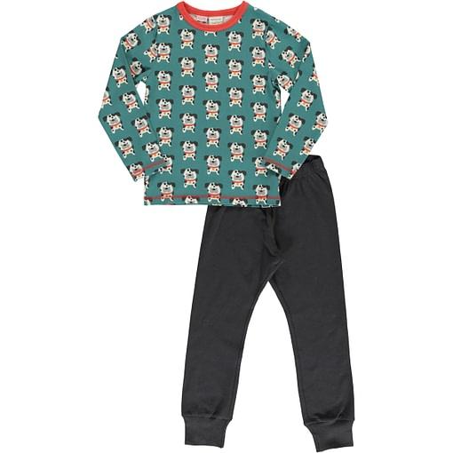 Dalmation buddy organic cotton pyjamas by Maxomorra 1