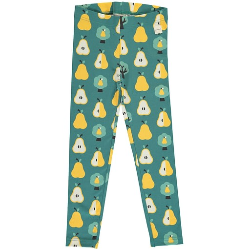 Golden pear organic cotton leggings from Maxomorra 1