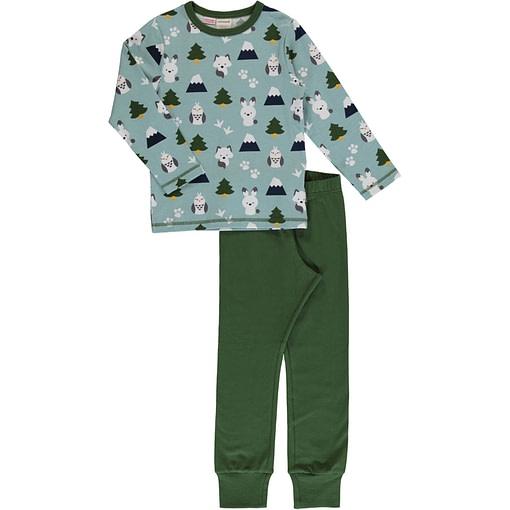 Winter world organic cotton pyjamas by Maxomorra (122/128cm 7-8 years) 1
