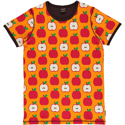 Adult Apple organic cotton short sleeve t-shirt - Maxomorra 1