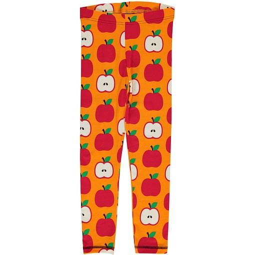 Maxomorra apple leggings in organic cotton (134/140cm Age 9-10) 1