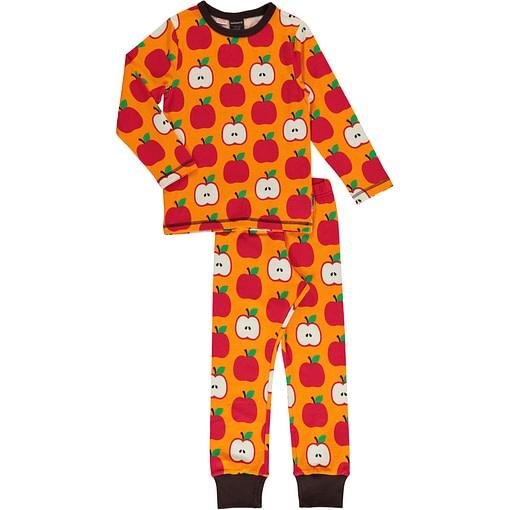 Maxomorra apple organic cotton pyjamas 1