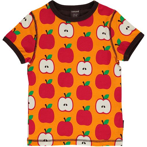Apple organic cotton short sleeve t-shirt - Maxomorra 1