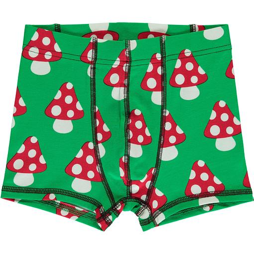 Maxomorra organic cotton boxers | Mushroom (86/92 18-24m) 6