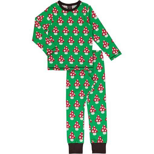 Maxomorra Mushroom organic cotton pyjamas 1