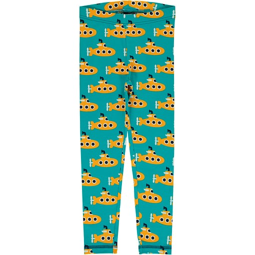 Maxomorra submarine leggings in organic cotton (134-140cm age 9-10) 1
