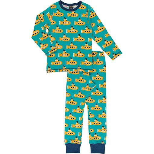 Maxomorra Submarine organic cotton pyjamas 1