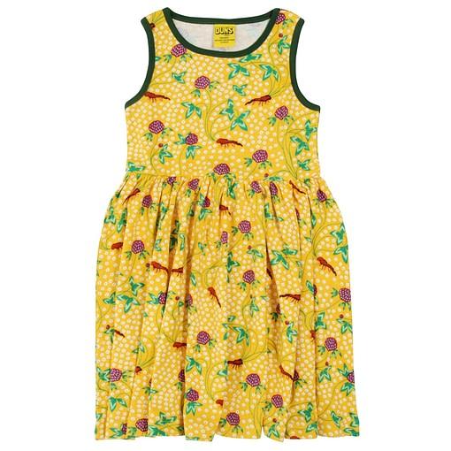 DUNS Sweden red clover organic cotton sleeveless twirly dress 1
