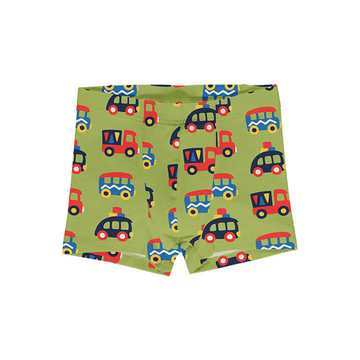 Maxomorra organic cotton boxers | Colourful Cars 5