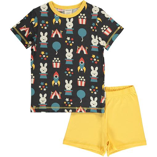 Maxomorra fun park organic short sleeve pyjamas (110/116 5-6 years) 1