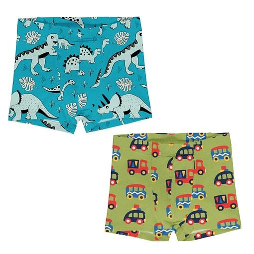 Maxomorra organic cotton boxers | Colourful Cars 1