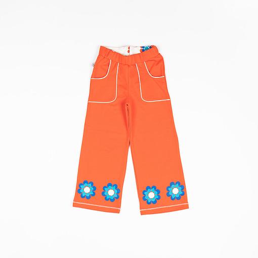 Caroline Flower pants in Orange.com by Alba of Denmark 1