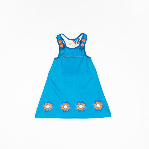 Alba pinafore dress
