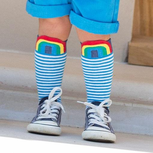 Kite knee high sailing socks organic cotton - 2 pack 2