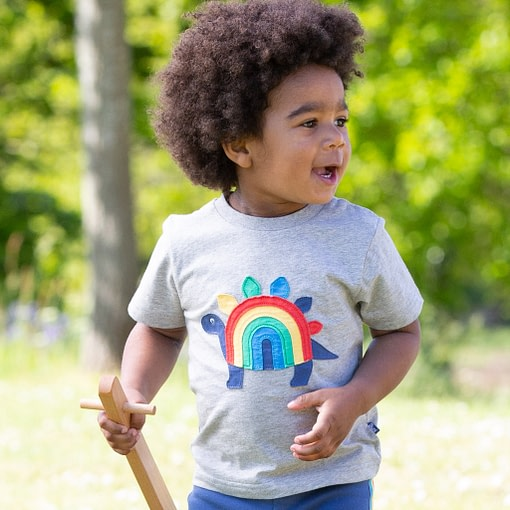 Kite rainbow dino t-shirt