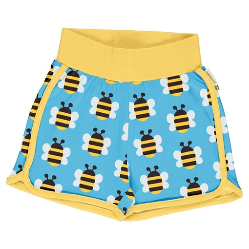 Maxomorra bee runner shorts
