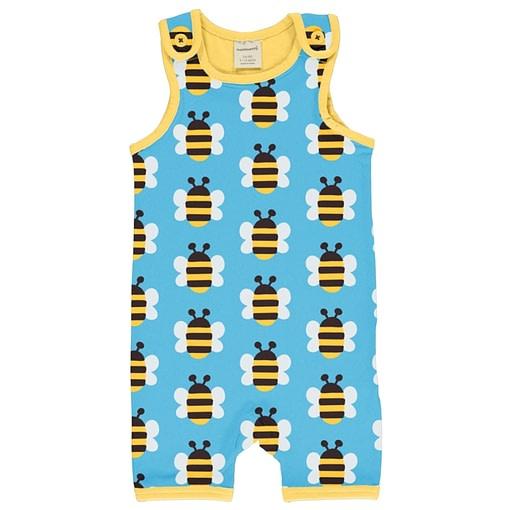 Maxomorra bee short playsuit
