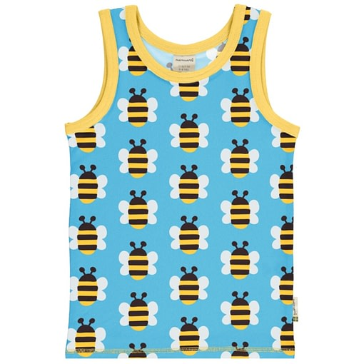 Maxomorra bee sleeveless vest