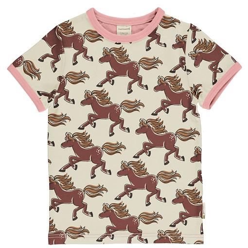 Maxomorra organic horse t-shirt
