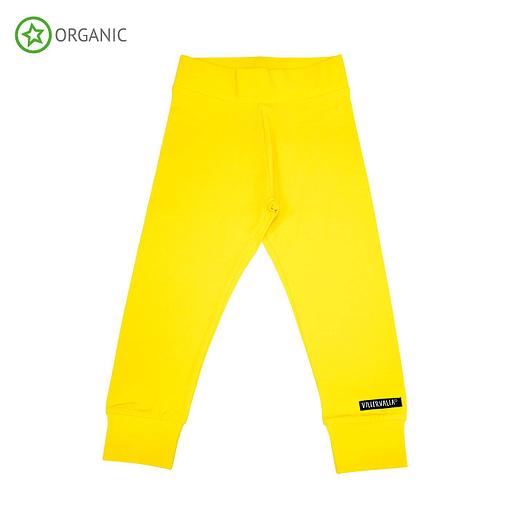 Villervalla sun yellow organic trousers