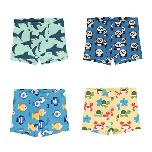 Maxomorra boxer shorts Sharks Panda Fish Beach