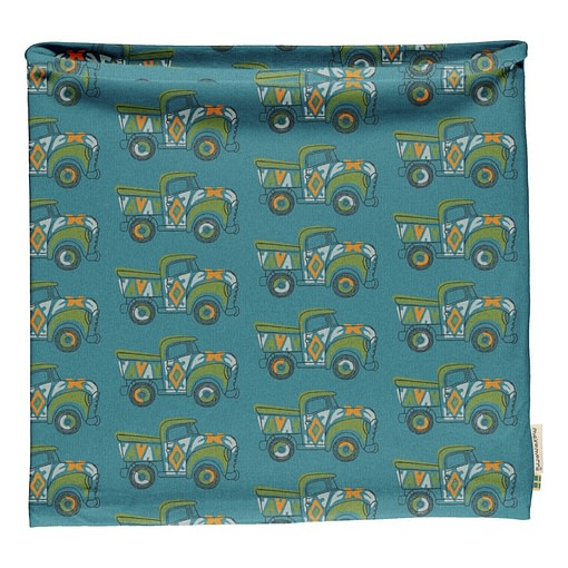 Maxomorra painted truck neck scarf