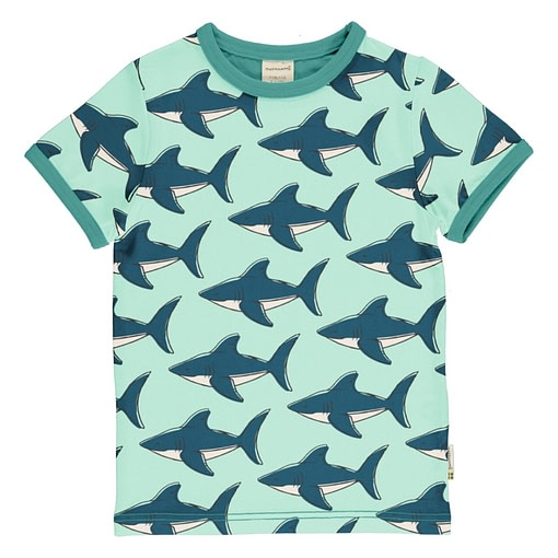 Maxomorra shark t-shirt