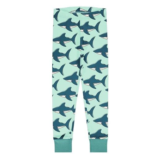 Maxomorra shark cuff leggings