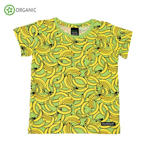 Villervalla ethical banana t-shirt