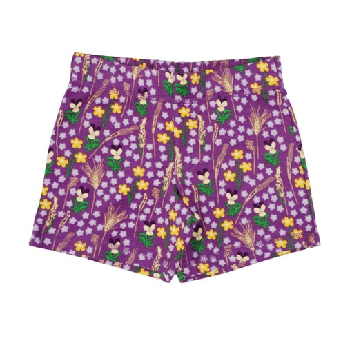 DUNS Sweden meadow shorts in organic cotton