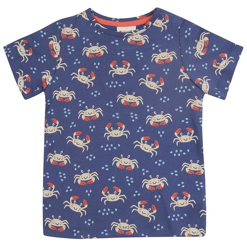 Piccalilly adult crab t-shirt