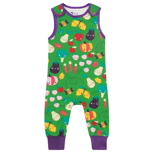 Grow your own organic cotton dungarees by Piccalilly 1