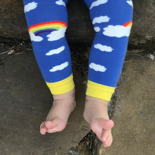 Slugs and Snails footless tights