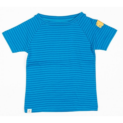 Alba of Denmark Sigurd Methyl Blue magic stripes organic rib t-shirt 1