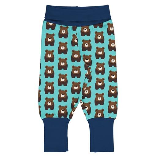 Maxomorra rib pants bear