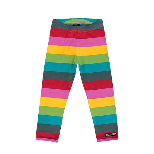 Villervalla leggings rainbow stripes - Madrid