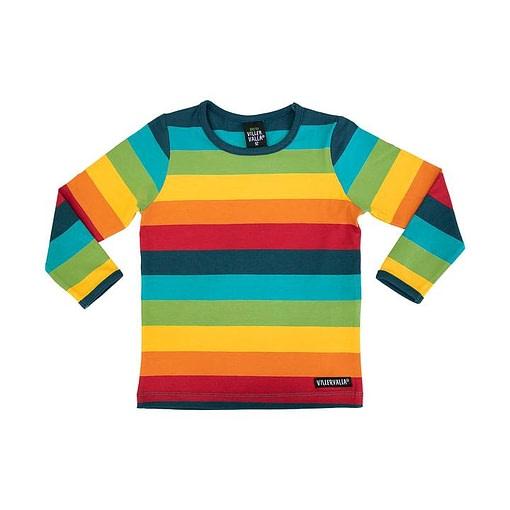Villervalla top in rainbow stripes - Athens
