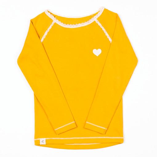 Alba Ghita blouse yellow