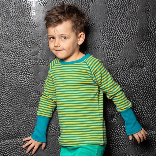 Alba of Denmark Henrik blouse in Ceylon Magic Stripes 2