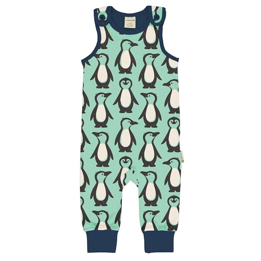 Maxomorra dungarees penguin family