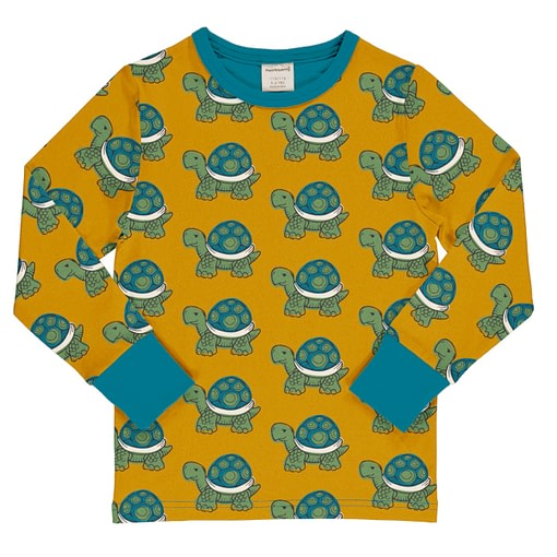 Maxomorra tortoise long sleeve top
