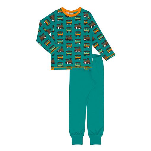 Maxomorra pyjamas trains