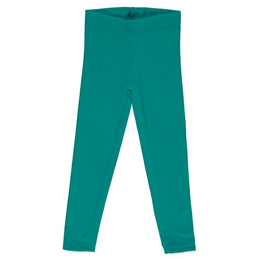 Maxomorra velour leggings lagoon