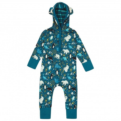 Piccalily arctic hooded playsuit