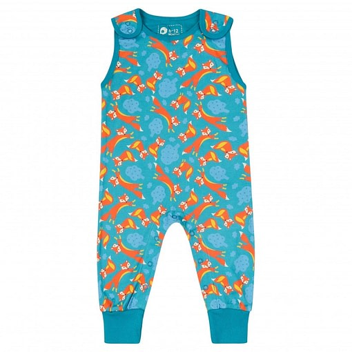 Piccalilly dungarees fox