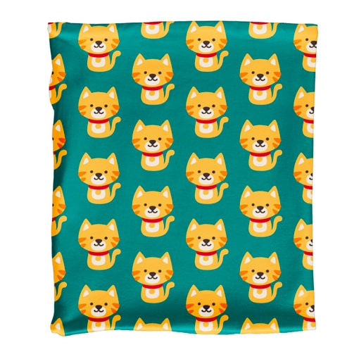 Maxomorra tube scarf cat
