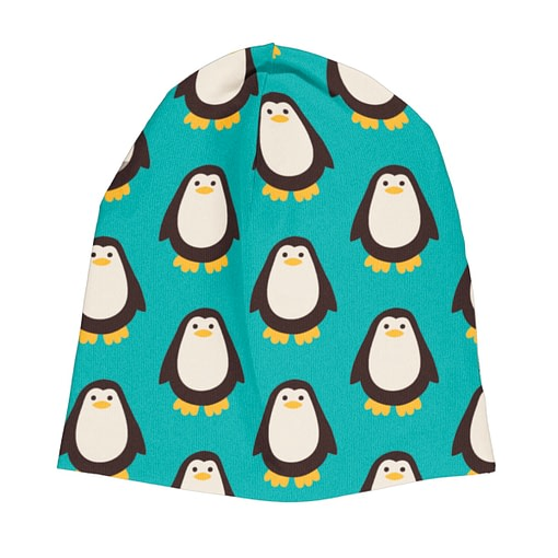 Maxomorra velour hat penguins