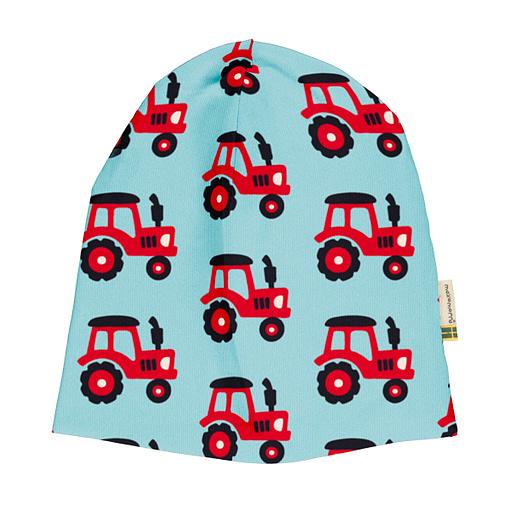 Maxomorra tractor beanie hat
