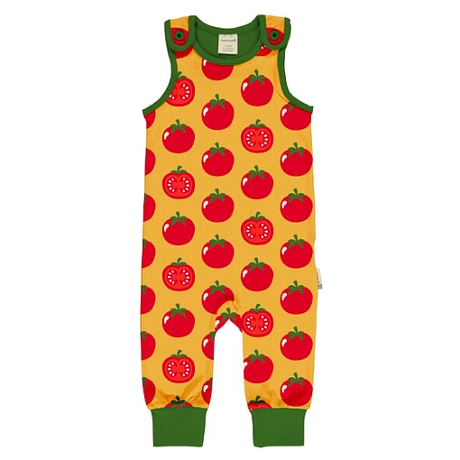 Maxomorra tomato playsuit
