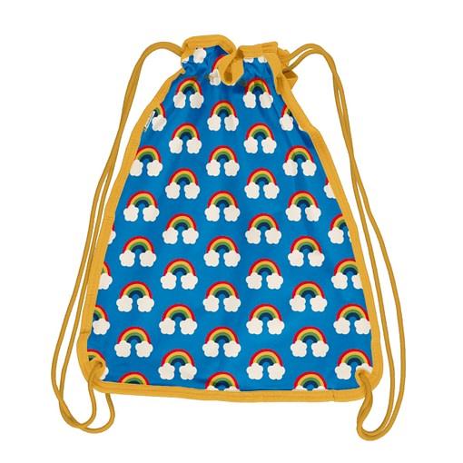 Maxomorra rainbow drawstring gym bag